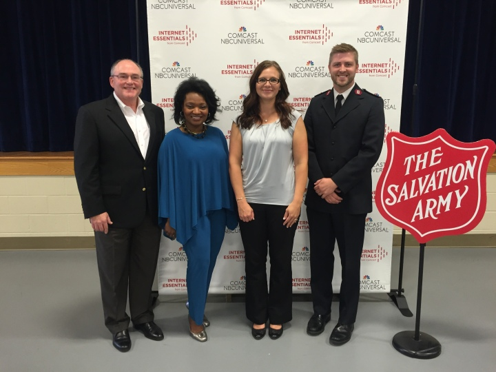 Comcast Salvation Army photo